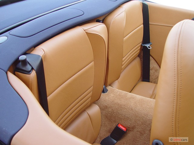 2003 Porsche 911 Carrera 2-door Carrera 4 Cabriolet 6-Spd Man Rear Seats