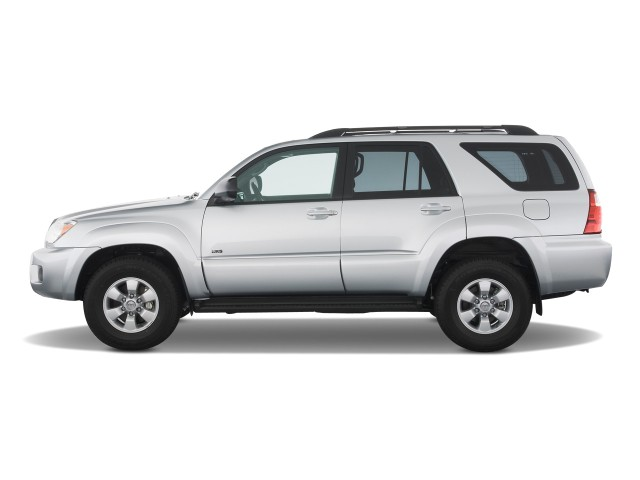 image 2009 toyota 4runner rwd 4 door v6 sr5 natl side exterior view size 640 x 480 type. Black Bedroom Furniture Sets. Home Design Ideas