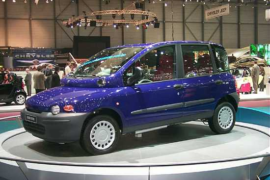 image 2000 fiat multipla concept geneva auto show size 550 x 367 type gif posted on. Black Bedroom Furniture Sets. Home Design Ideas