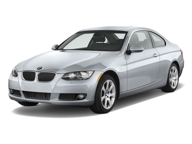 2010 Bmw 3 Series 2 Door Coupe 335i Rwd Angular Front Exterior View