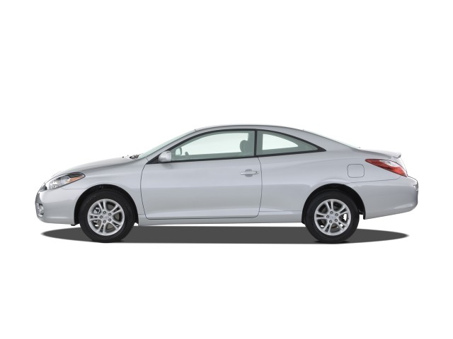 image 2008 toyota camry solara 2 door coupe v6 auto se natl side exterior view size 640 x. Black Bedroom Furniture Sets. Home Design Ideas