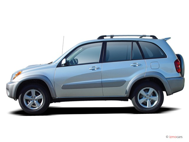 2005 toyota rav4 4 door auto natl side exterior view. Black Bedroom Furniture Sets. Home Design Ideas