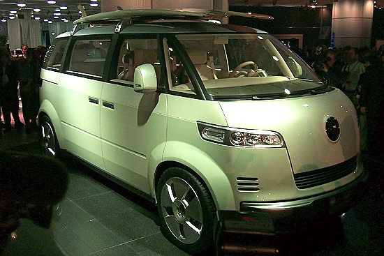 is volkswagen s bulli concept unveiled at 2011 geneva motor show the new vw microbus