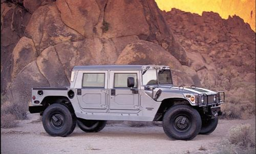 new and used hummer h1 prices photos reviews specs the car connection. Black Bedroom Furniture Sets. Home Design Ideas