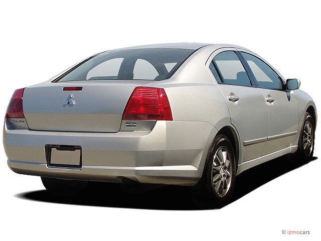2006 mitsubishi galant 4 door sedan es 2 4l auto angular. Black Bedroom Furniture Sets. Home Design Ideas