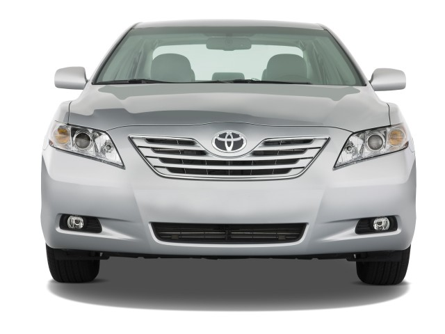 2009 toyota camry 4 door sedan v6 auto xle natl front exterior view. Black Bedroom Furniture Sets. Home Design Ideas