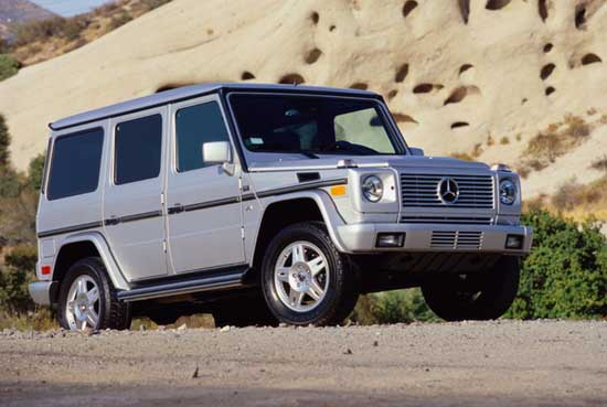 2002 mercedes benz g class pictures photos gallery. Black Bedroom Furniture Sets. Home Design Ideas