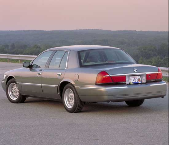2002 Mercury Grand Marquis Pictures/Photos Gallery