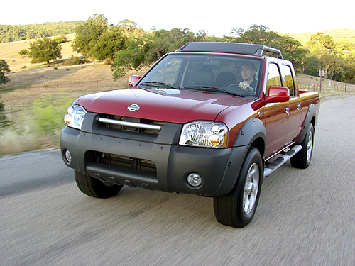 2002 nissan frontier pictures photos gallery green car. Black Bedroom Furniture Sets. Home Design Ideas