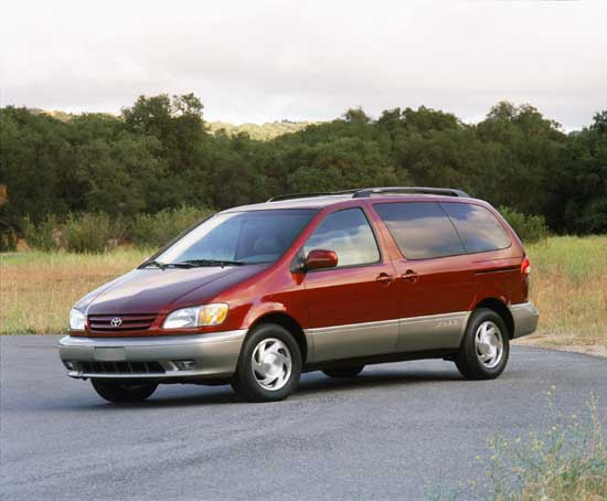 2002 toyota sienna pictures photos gallery the car. Black Bedroom Furniture Sets. Home Design Ideas