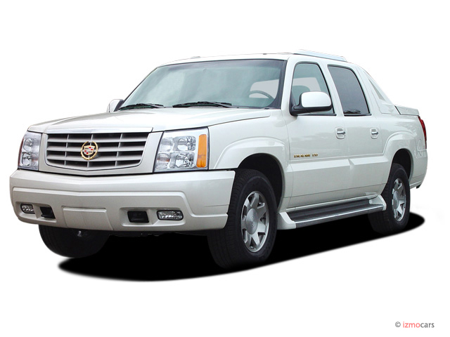 2003 cadillac escalade ext pictures photos gallery motorauthority. Black Bedroom Furniture Sets. Home Design Ideas