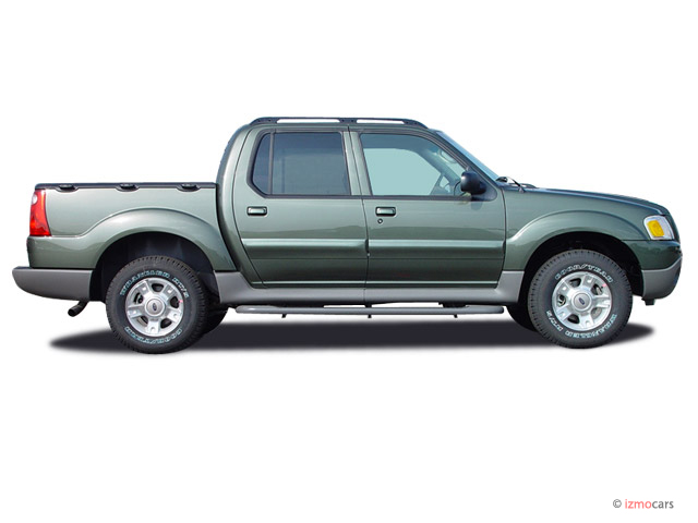 2003 ford explorer sport trac pictures photos gallery the car connection. Black Bedroom Furniture Sets. Home Design Ideas