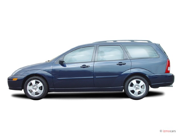 Image: 2003 Ford Focus 4-door Wagon ZTW Side Exterior View, size: 640 ...