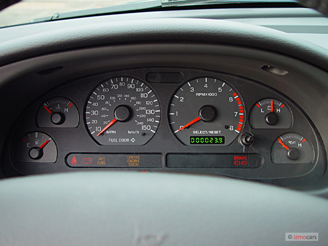 Ford Explorer Sport Lease Image: 2003 Ford Mustang 2-door Convertible GT Premium Instrument ...