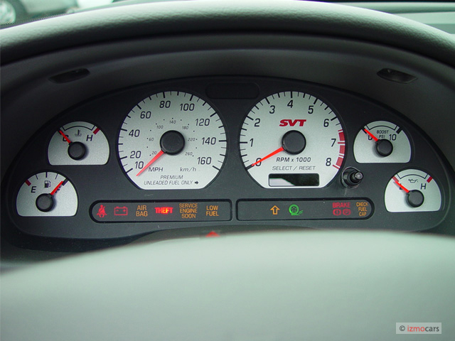 Instrument Cluster  Gauges  Warning Lights