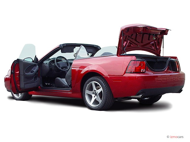 2003 Ford Mustang Svt Cobra Convertible. 2003 Ford Mustang 2-door