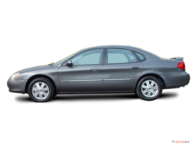 2003 ford taurus 4 door sedan sel premium side exterior. Black Bedroom Furniture Sets. Home Design Ideas