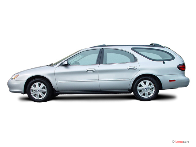 2003 Ford Taurus 4-door Wagon SEL Deluxe Side Exterior View #9006403