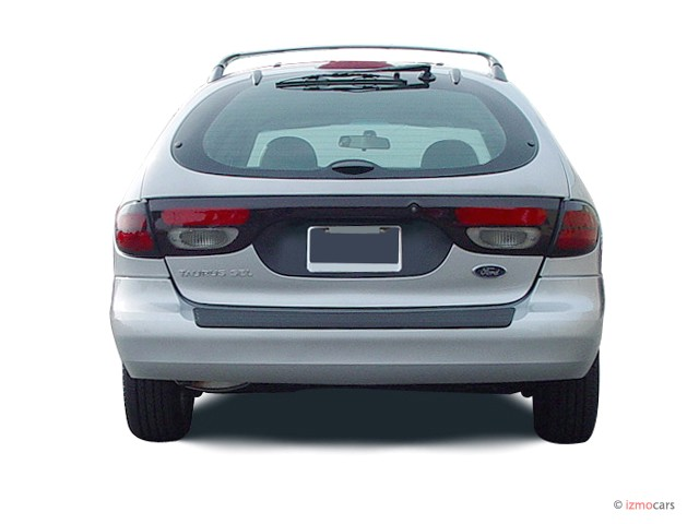 2003 Ford Taurus 4-door Wagon SEL Deluxe Rear Exterior View #7442501