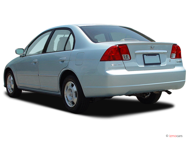 Image 2003 honda civic 4 door sedan hybrid manual angular for 03 honda civic 4 door