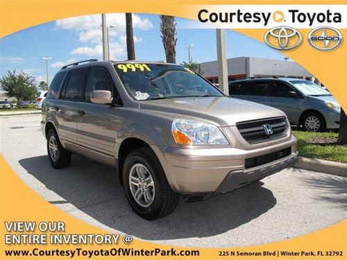 2003 Honda Pilot used car