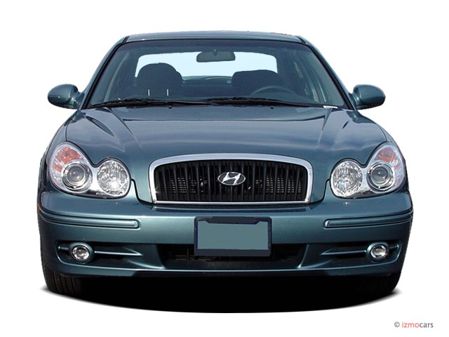 image 2005 hyundai sonata 4 door sedan gl i4 auto front. Black Bedroom Furniture Sets. Home Design Ideas