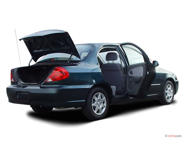 2003 kia spectra pictures photos gallery green car reports. Black Bedroom Furniture Sets. Home Design Ideas