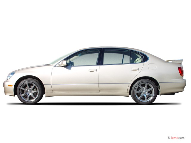 2003 Lexus GS 430 4-door Sedan Side Exterior View #8488056