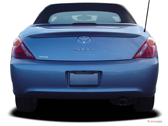 image 2006 toyota camry solara 2 door convertible sle v6 auto natl rear exterior view size. Black Bedroom Furniture Sets. Home Design Ideas