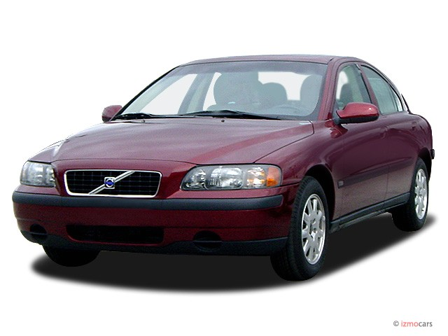 2003 volvo s60 4 door sedan 2 4l turbo angular front. Black Bedroom Furniture Sets. Home Design Ideas