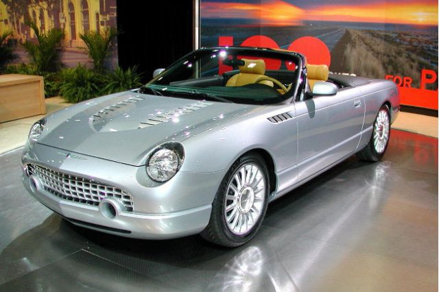 2003 Ford Thunderbird SC concept, Los Angeles Auto Show #8333580