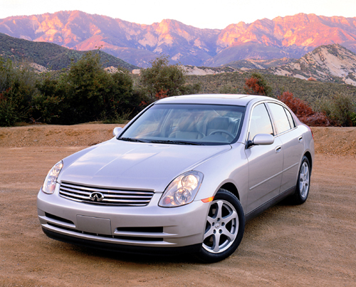 2003 infiniti g35 sedan pictures photos gallery the car. Black Bedroom Furniture Sets. Home Design Ideas