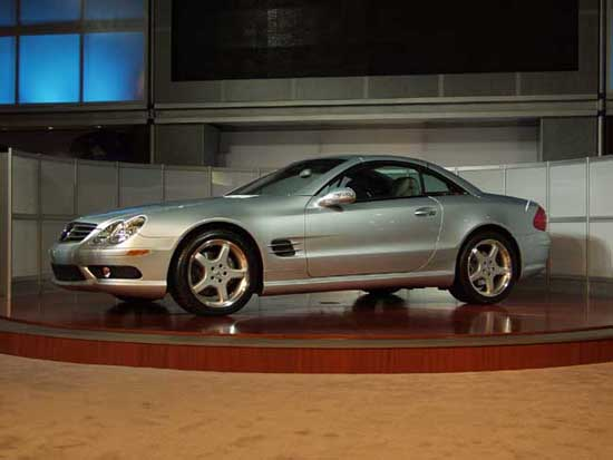 2003 mercedes benz sl class pictures photos gallery motorauthority. Black Bedroom Furniture Sets. Home Design Ideas