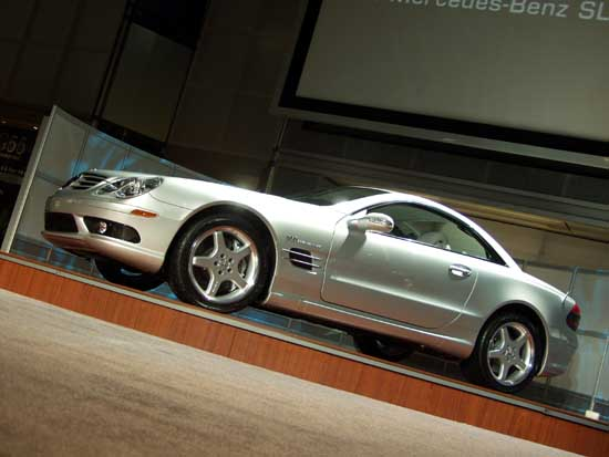 2003 Mercedes-Benz SL Class - Photo Gallery