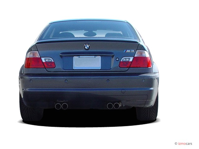 Image 2006 Bmw 3 Series M3 2 Door Coupe Rear Exterior