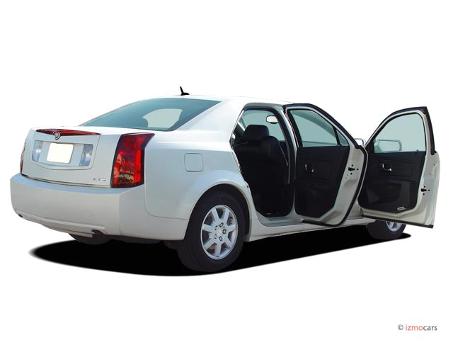 2006 cadillac cts 4 door sedan 3 6l open doors. Black Bedroom Furniture Sets. Home Design Ideas