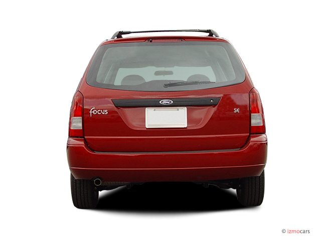 image 2004 ford focus 4 door wagon se rear exterior view. Black Bedroom Furniture Sets. Home Design Ideas