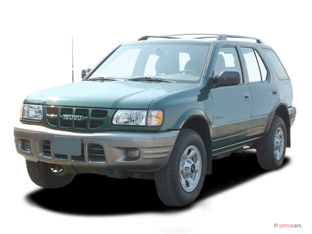 2004 isuzu rodeo 4 door s 3 5l auto angular front exterior. Black Bedroom Furniture Sets. Home Design Ideas