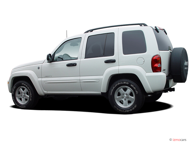 2004 jeep liberty 4 door limited 4wd angular rear exterior view. Cars Review. Best American Auto & Cars Review