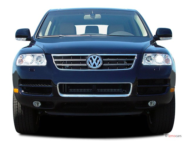 2005 volkswagen touareg 4 door v8 front exterior view 8633451. Black Bedroom Furniture Sets. Home Design Ideas