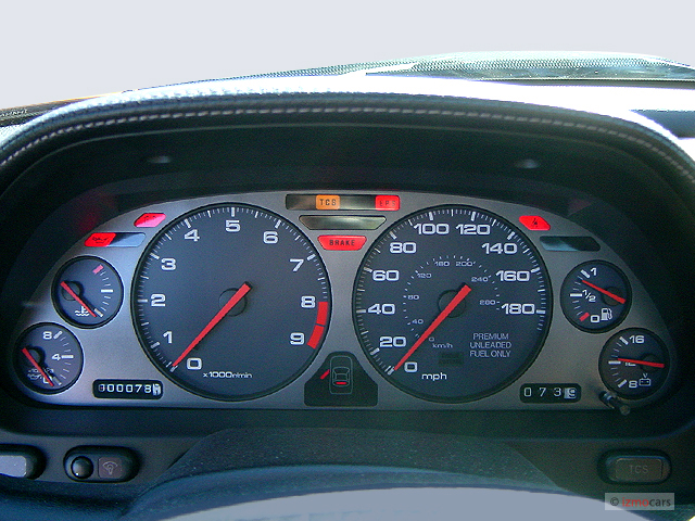 Image 2005 Acura Nsx 2 Door Coupe Mt Instrument Cluster
