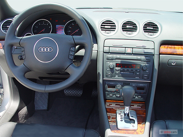 Image 2005 audi a4 2005 2 door cabriolet 3 0l cvt dashboard size 640 x 480 type gif posted
