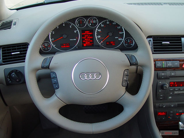 A8 Steering Wheel In 01 Allroad