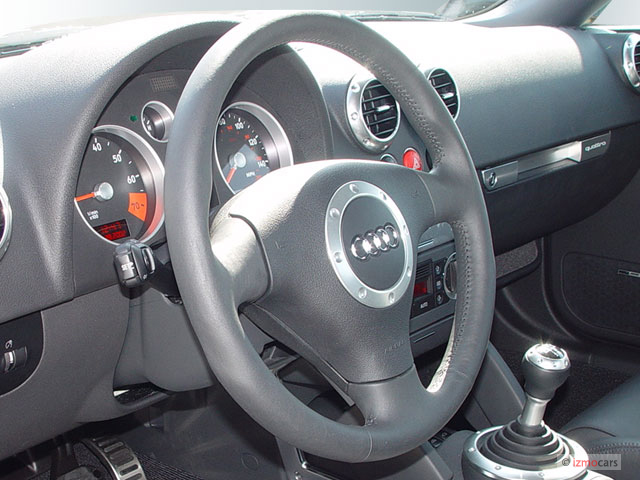 2005 Audi TT 2-door Roadster quattro Manual Steering Wheel #9260663