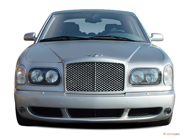 2005 Bentley Arnage 4-door Sedan T Front Exterior View #9836616