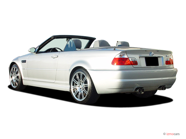 2005 BMW 3-Series M3 2-door Convertible Angular Rear Exterior View #8759697