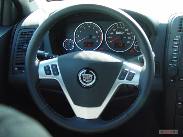 2005 Cadillac CTS-V 4-door Sedan Steering Wheel #9733176