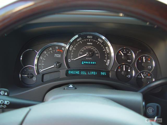 2003 cadillac escalade speedometer not working