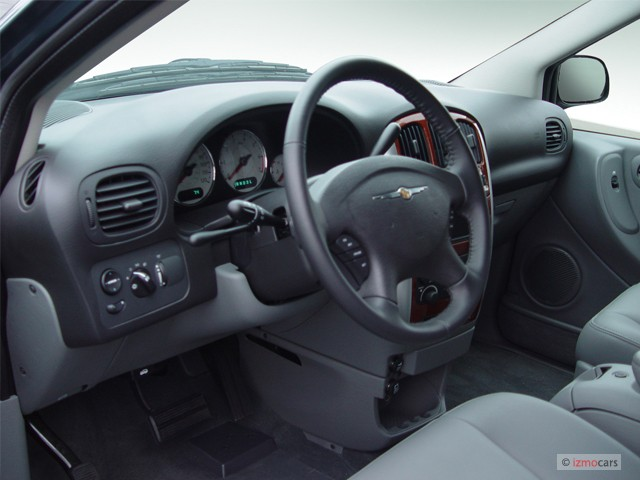 Image: 2005 Chrysler Town & Country 4-door LWB Limited FWD Dashboard ...