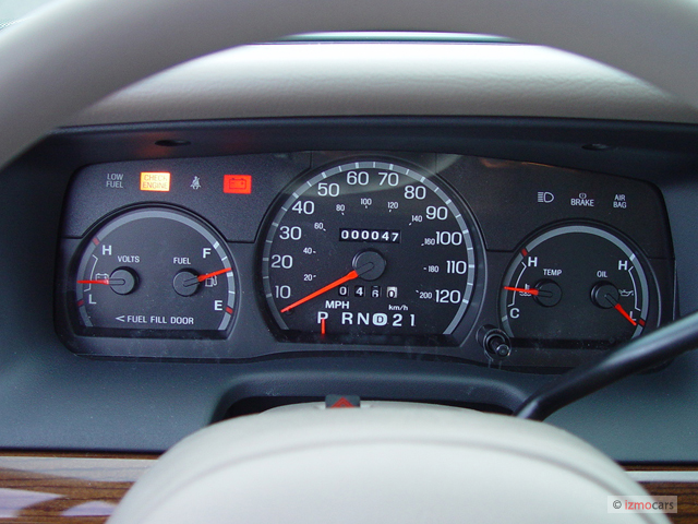 Swapping Instrument Clusters   Body and Interior   Crownvic net